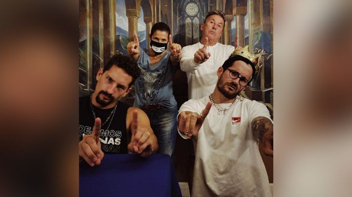 """Ricardo Montaner junto a Mau y Ricky baila al ritmo de 'Papás': """"Qué flow"""""""