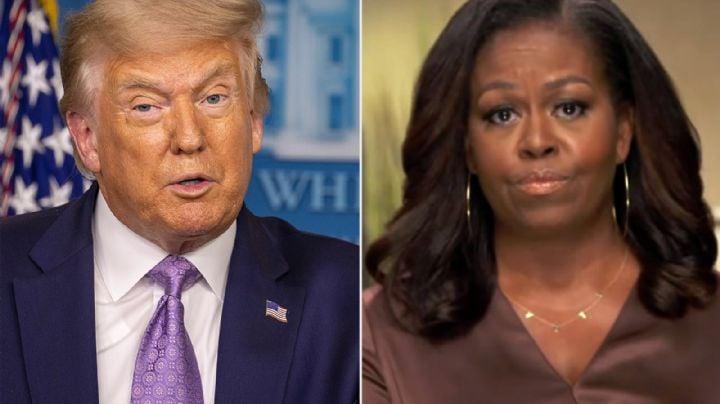 "Trump responde a Michelle Obrama: ""Gracias a su marido soy presidente"""