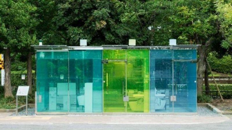 VIDEO: Tokio sorprende al mundo con sus increíbles baños públicos transparentes