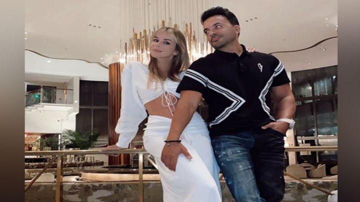 """Luis Fonsi escribe mensaje a su esposa y causar furor en Instagram: """"Te amamos flaca"""""""