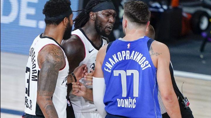 Polémica en la NBA: Jugador de los Clippers lanza fuerte insulto racista a Luka Doncic