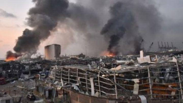 Beirut: Ya son 182 las víctimas fallecidas tras las devastadoras explosiones