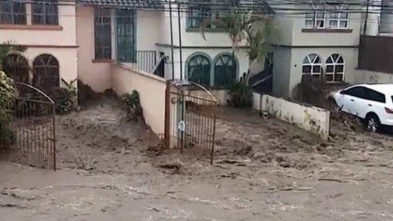 VIDEO: Joven de 17 años es arrastrado por peligrosa corriente de agua en Xapala
