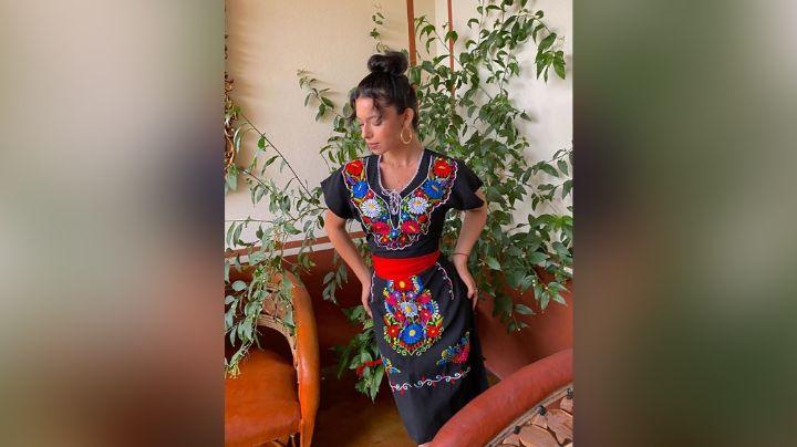Ángela Aguilar paraliza Instagram al asolearse de esta exquisita forma