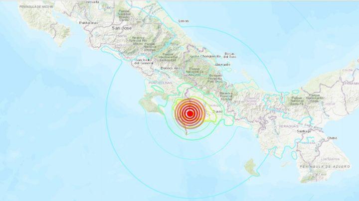 Sismo con magnitud de 5.9 grados se registra en zonas de Costa Rica