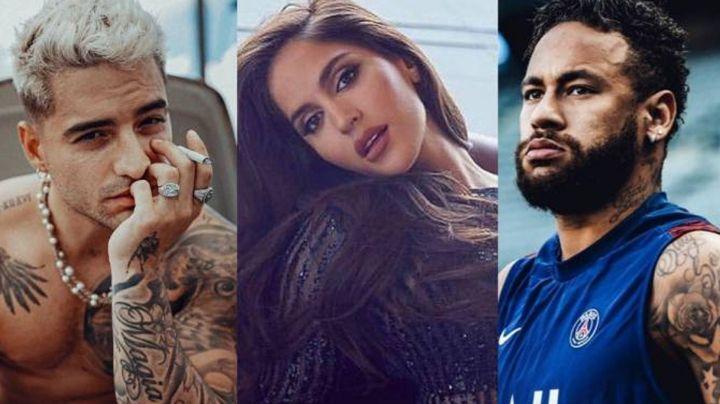 Natalia Barulich se pronuncia respecto a la polémica con Maluma y Neymar