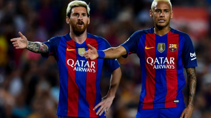 Lionel Messi intenta convencer a Neymar de ir juntos al Manchester City