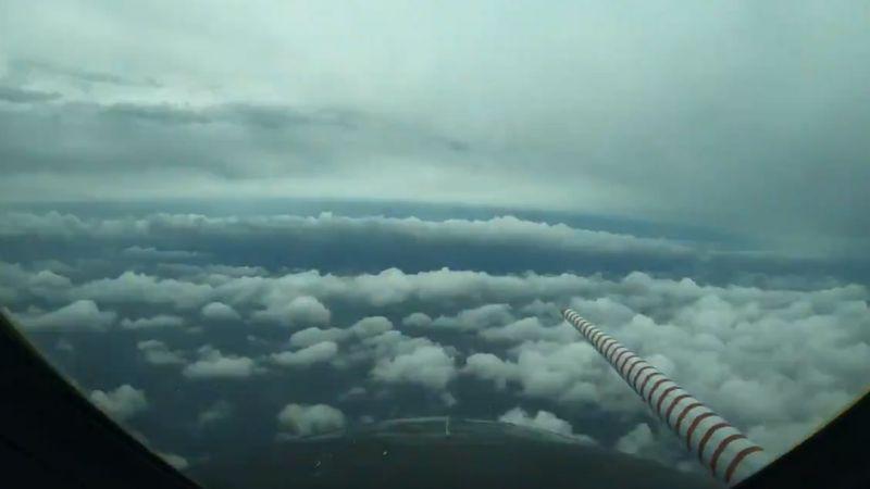 (VIDEO) Impresionante: Avión de la NOAA vuela a través del huracán 'Laura'