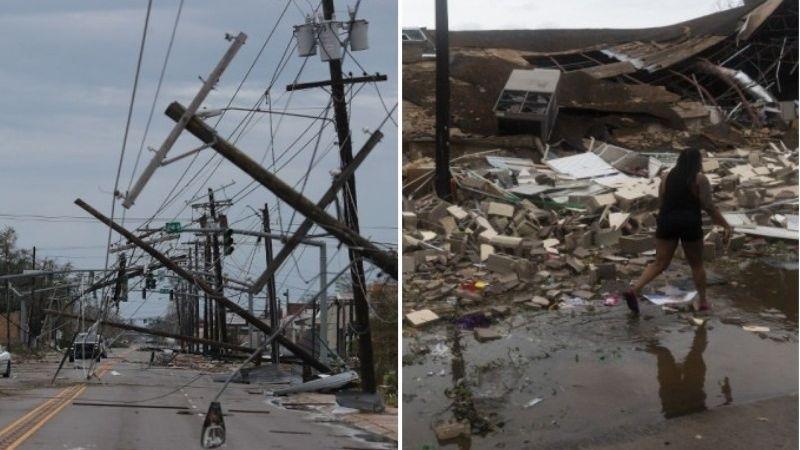 Mueren 4 personas tras el paso del huracán 'Laura'; una víctima era menor de edad