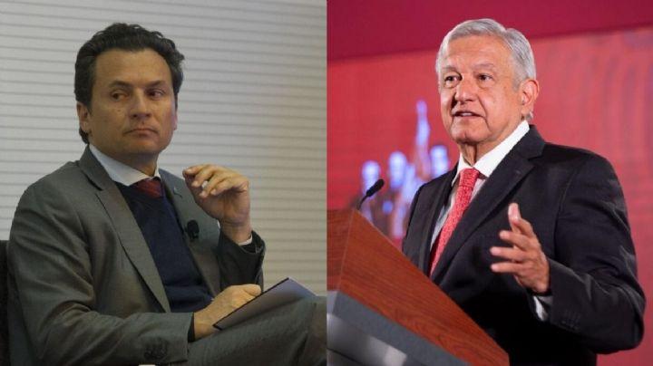 Exhiben relación de compadrazgo entre papá de Emilio Lozoya y AMLO