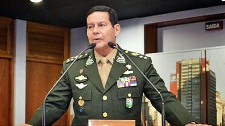 Vicepresidente de Brasil es fuertemente criticado por minimiza los incendios de la Amazonía