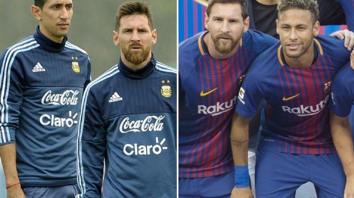 Neymar y Ángel Di María convencerían a Messi de unirse a ellos en el PSG