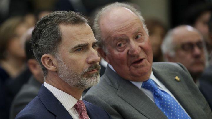 Escándalo en la monarquía de España: Felipe acepta el exilio de Don Juan Carlos