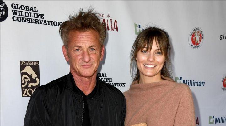 Sean Penn se casa casi en secreto con una actriz 30 años menor que él
