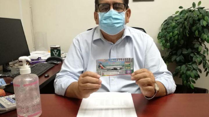 Se registra alta demanda para la adquisición de los boletos del avión de la Lotería Nacional en Sonora