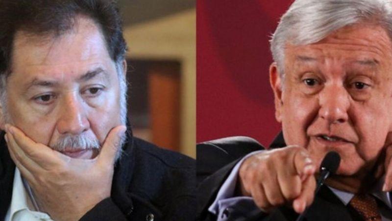 "Gerardo Fernández Noroña 'se le voltea' a AMLO: ""Lo que hizo es gravísimo"""