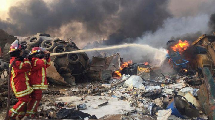 """Beirut: La increíble explosión causó """"innumerables"""" heridos y severos daños"""