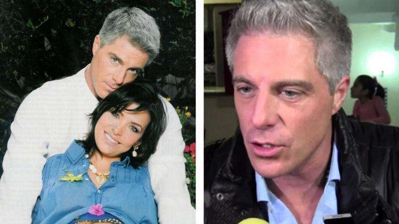 """Lisardo recuerda ruptura con actriz de Televisa: """"Seguimos siendo muy felices"""""""