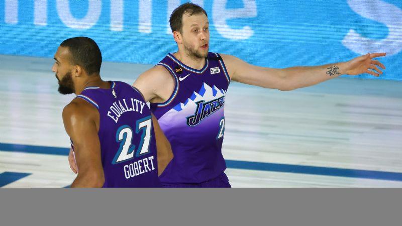 Jazz siguen en plan grande en la burbuja de la NBA y ganan ante los Grizzlies