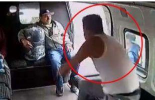 Píñatería Ramírez lo vuelve a hacer: Le rinden honores al ladrón golpeado en una combi
