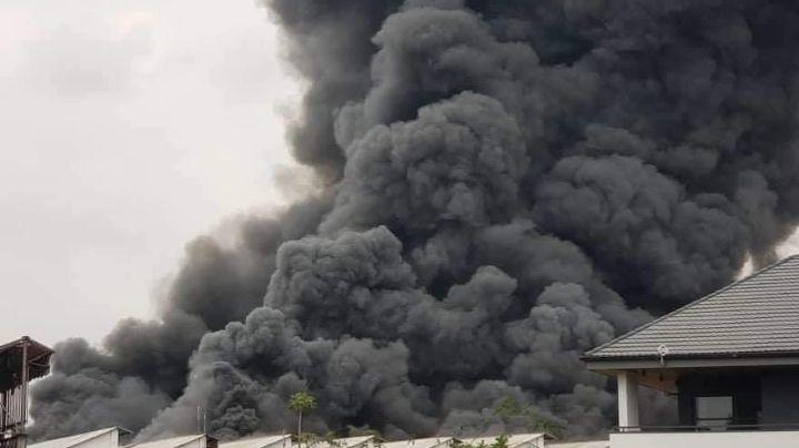 ¡Lamentable! Incendio en almacén de la Unicef destruye medicamentos para Covid-19 y ébola