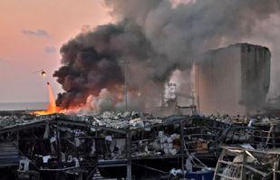 Beirut: Autoridades indagan si la trágica explosión fue producto de un misil