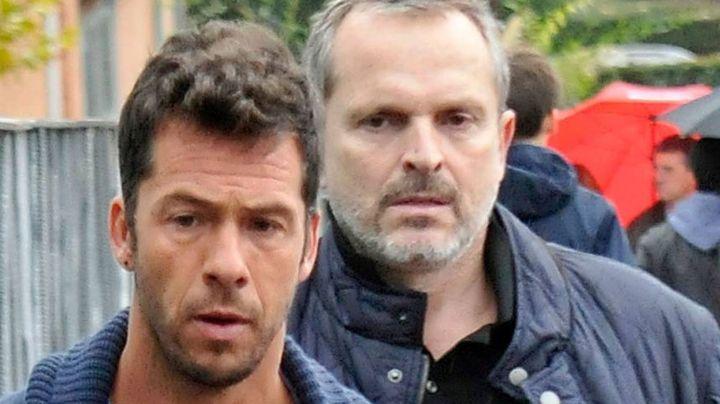 Miguel Bosé se reencuentra con su ex, Nacho Palau, tras dos años de separación