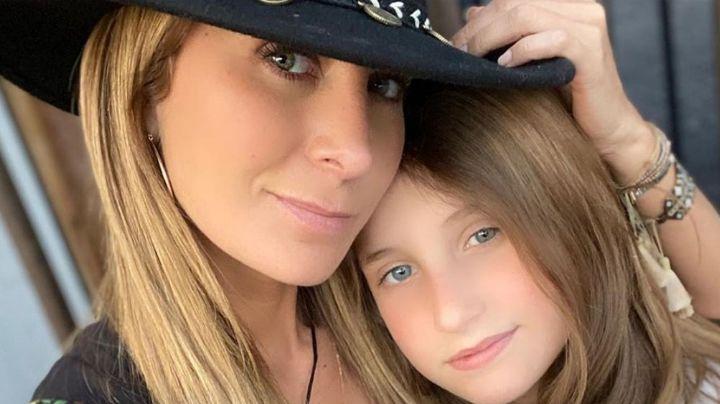 Geraldine Bazán presume en Instagram que su hija mayor heredó su misma belleza