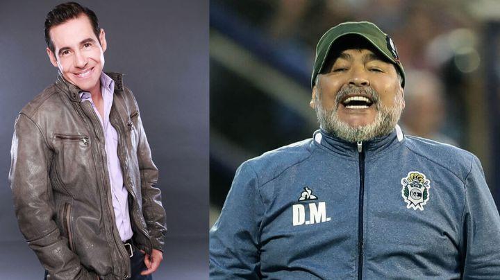Yordi Rosado revela el rechazo de Televisa a Diego Maradona en 'Otro Rollo'