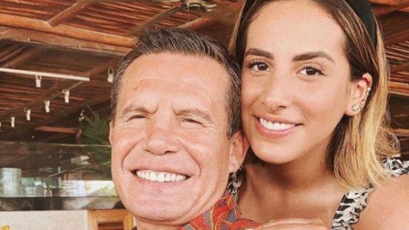 Nicole: La hija de Julio César Chávez disfruta de sus vacaciones desde la piscina