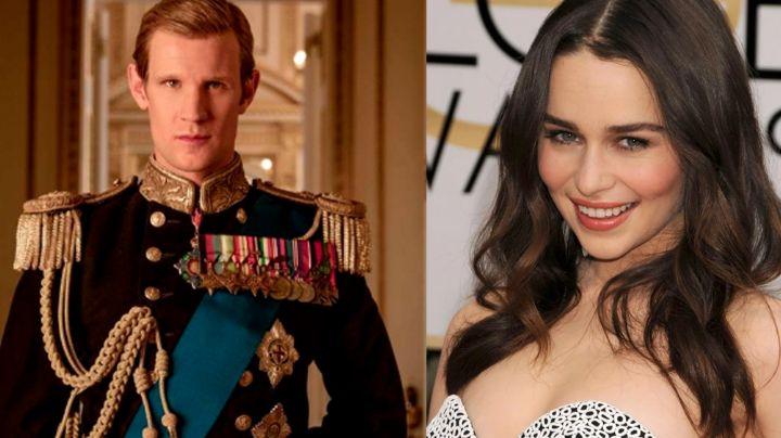 La 'realeza' llega a Hollywood: Destapan romance entre Emilia Clarke y actor de 'The Crown'