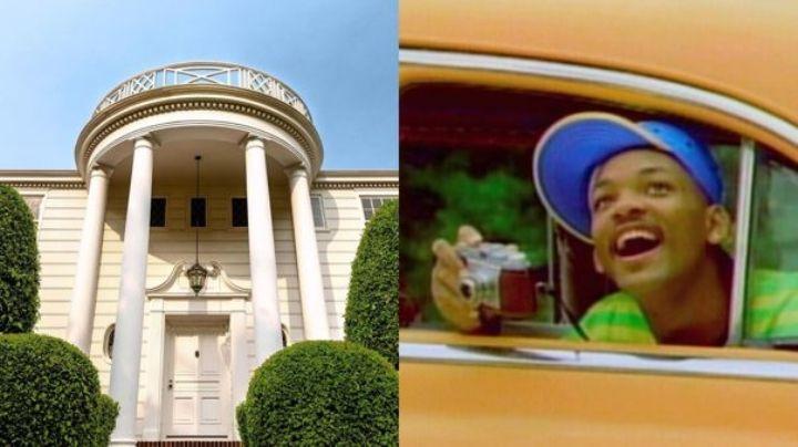 Will Smith pone en renta la mansión de la serie 'El Príncipe del Rap en Bel Air'