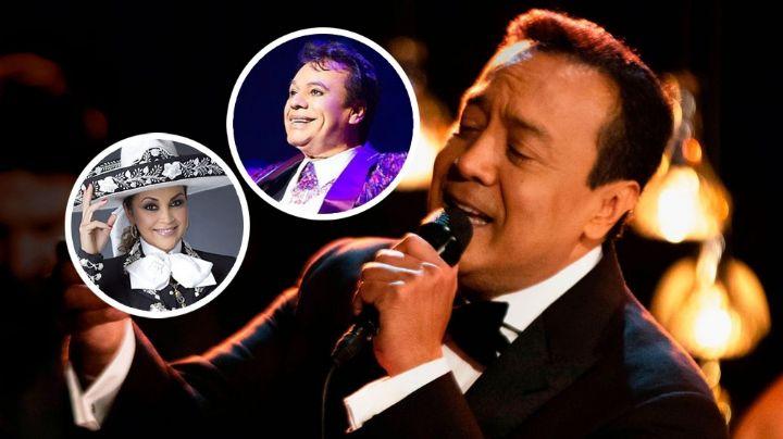 Carlos Cuevas dejaría de interpretar canciones de Juan Gabriel por culpa de su hermana