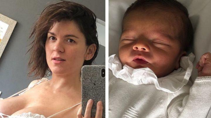 Zoraida Gómez enternece Instagram al presumir los ojos de su recién nacido