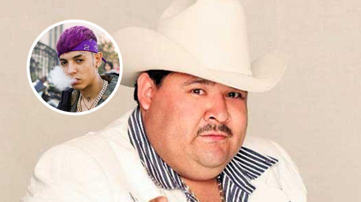 'El Coyote' se hace de críticas por posar junto a Natanael Cano; fans piden que no cante con él
