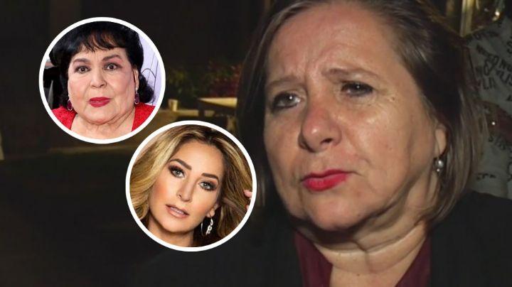 Mamá de Geraldine Bazán manda fuerte mensaje a Carmen Salinas por hablar de su hija