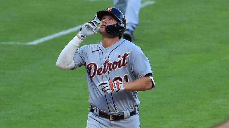 Duro golpe para Tigres de Detroit; JaCoby Jones fuera el resto del año