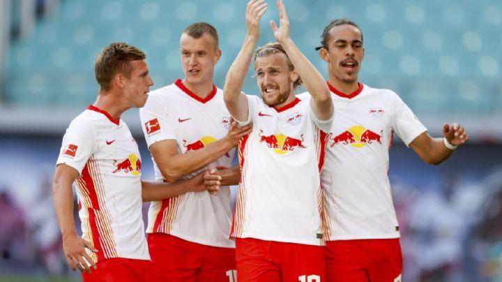 Leipzig debuta en la Bundesliga con una victoria por 3-1 ante Mainz
