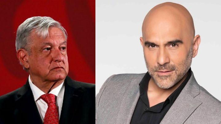 """Héctor Suárez Gomís arremete contra AMLO: """"Idio... inventan los adjetivos"""""""