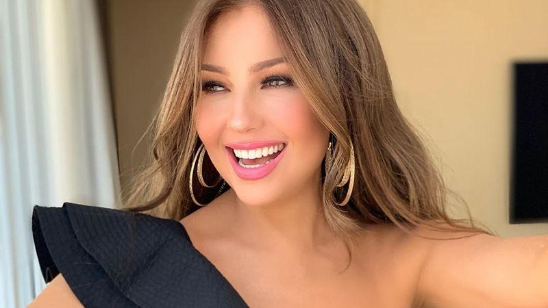 Entre diamantes y perlas, Thalía protagoniza elegante fotografía en redes sociales