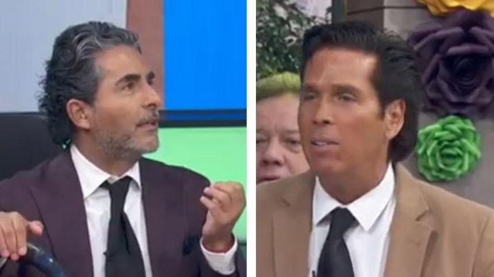 'El Negro' Araiza hace colapsar a Roberto Palazuelos en pleno programa 'Hoy'