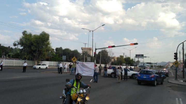 Sindicato del Cobach se manifiesta en plantel de Villa de Seris en Hermosillo