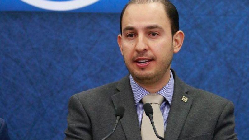 Marko Cortés pide apoyo de los ciudadanos para consulta popular sobre un Ingreso Básico Universal