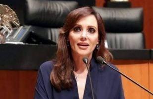 """Lilly Téllez arremete contra Morena: """"Robo en Indep comenzó como los narcos; por las joyas"""""""