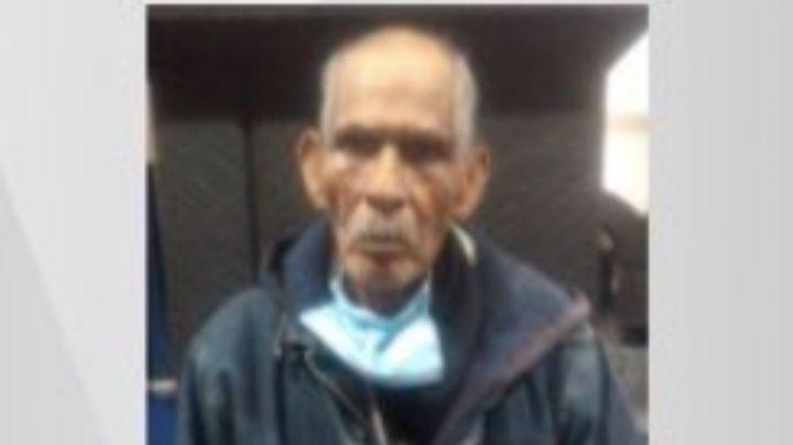 Busca a sus familiares: Hombre de la tercera edad extraviado en el Edomex