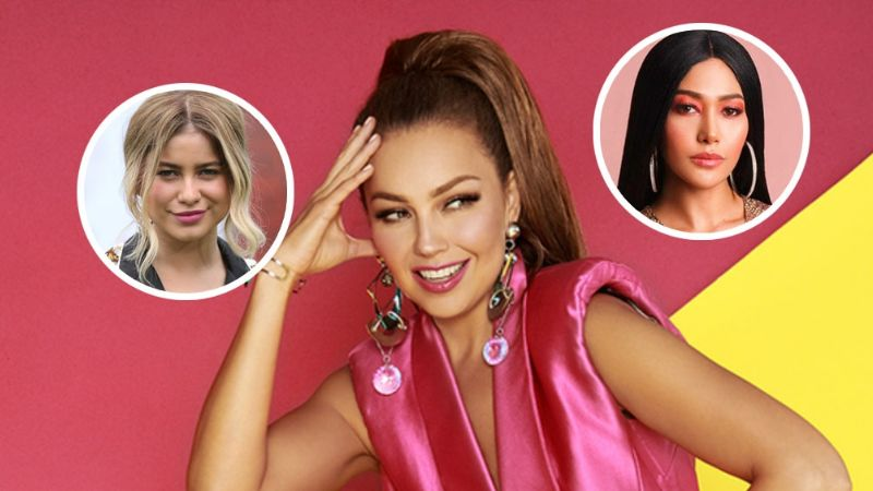 Thalía sorprende a sus fans y estrena su nueva serie junto a estas dos artistas