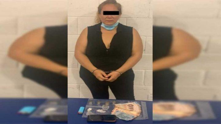 Cajeme: Detienen a mujer con una pipa y droga entre sus ropas en Villa Bonita