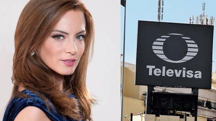¿Sale del clóset? Silvia Navarro reaparece en Televisa y Yolanda Andrade le coquetea en vivo