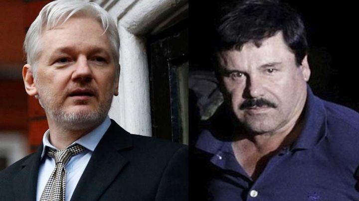 ¿Qué tienen en común Joaquín 'El Chapo' Guzmán y Julian Assange?
