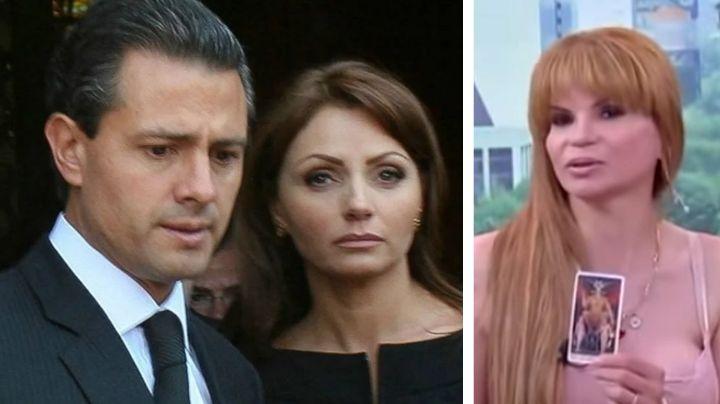Mhoni Vidente revela que Angélica Rivera saldría con exempleado de EPN
